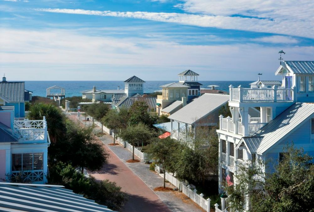 The town of Seaside. Image: Visit Florida