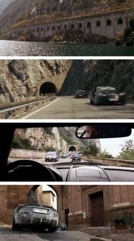 Bond in Lake Garda