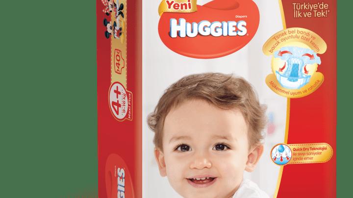 Huggies Kız ve Erkek Bebekler İçin Bebek Bezi