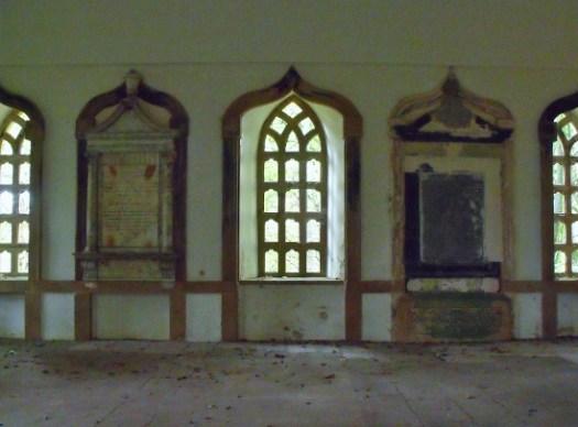 inside Duff House Mausoleum