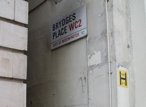 Brydges Place, the narrowest street in London. Ailish Sinclair | Author
