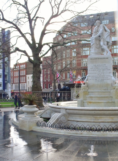 Shakespeare in Leicester Square, London. Ailish Sinclair | Author