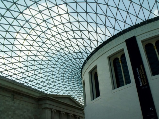 British Museum ceiling, London. Ailish Sinclair | Author