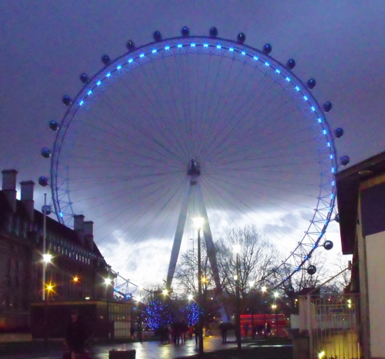 The London Eye. Ailish Sinclair | Author