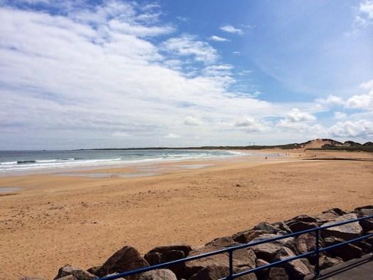 beach, it's the sky, of course it's the sky!