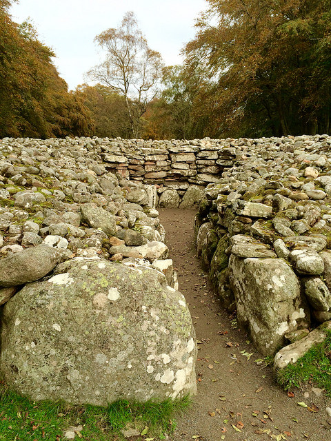 into the cairn