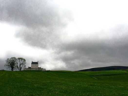A Scottish castle: Corgarff