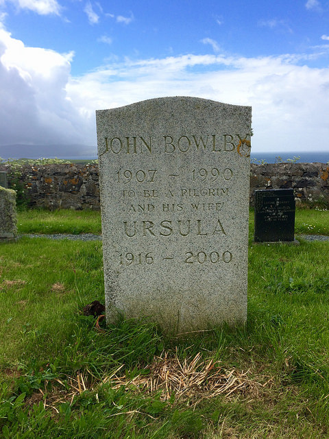 John Bowlby's grave on the Isle of Skye