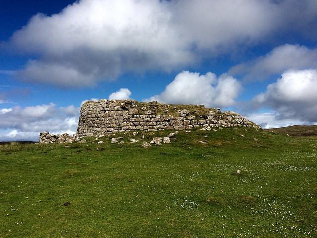 Dun Hallin on the Isle of Skye