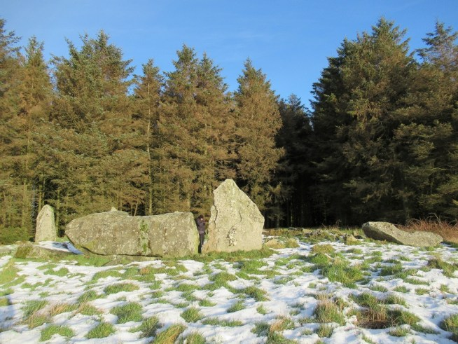 Aikey Brae stone circle in the sun and snow | Ailish Sinclair, writer.