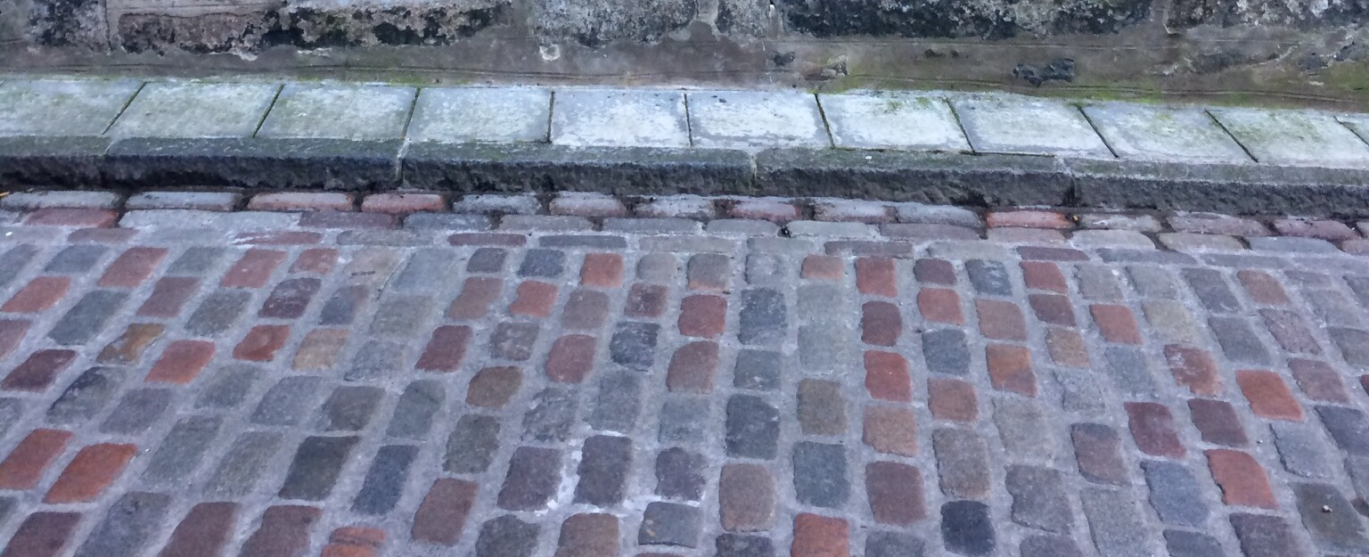 cobbles, or cassies, as they are called in Aberdeen