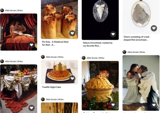 pinterest board for  the novel, The Mermaid and the Bear, by Ailish Sinclair