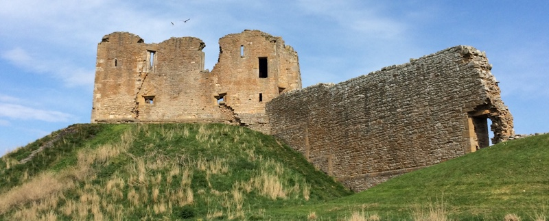Duffus Castle - Ailish Sinclair, author