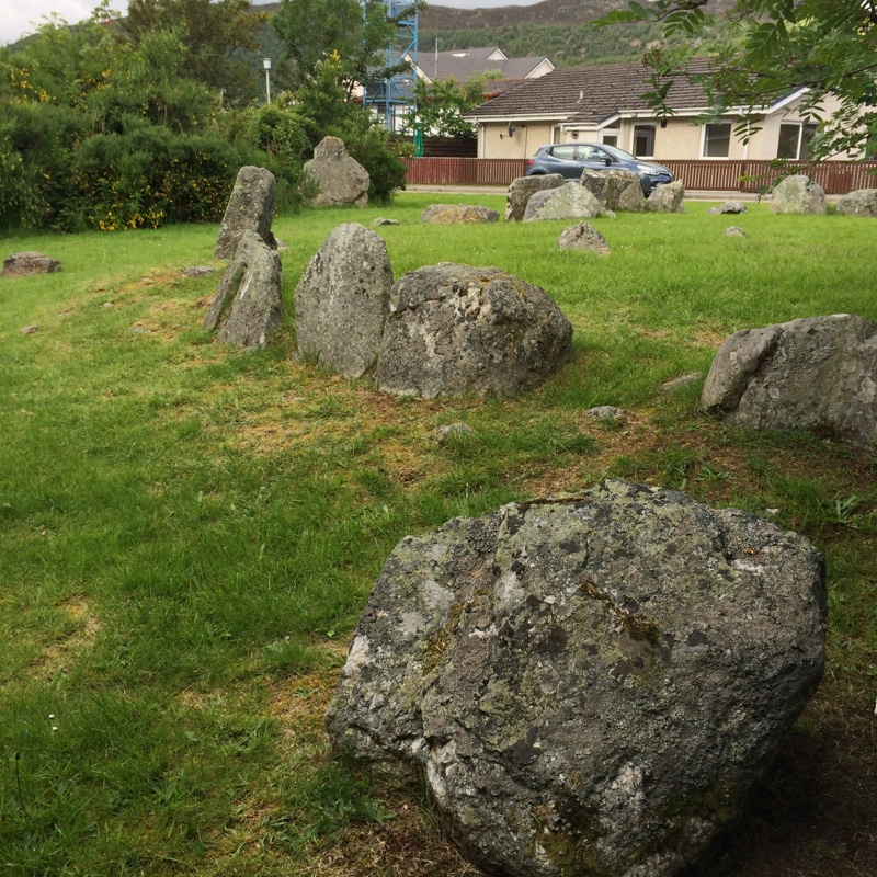 ancient stones at Aviemore