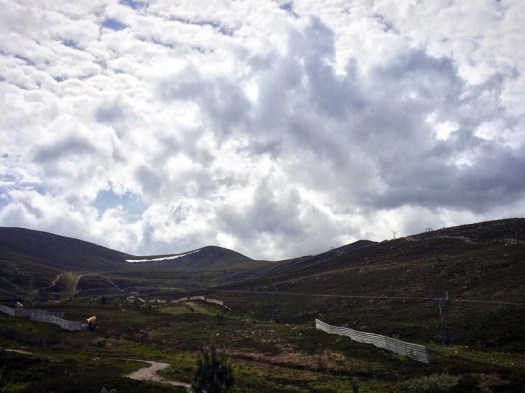 up in the Cairngorms