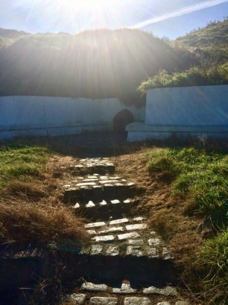 St Drostan's well