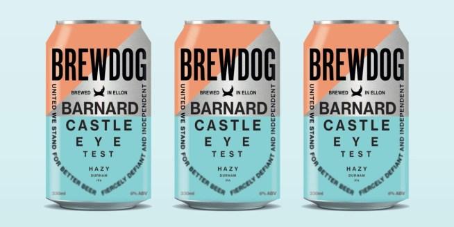 Brewdog's Barnard Castle beer