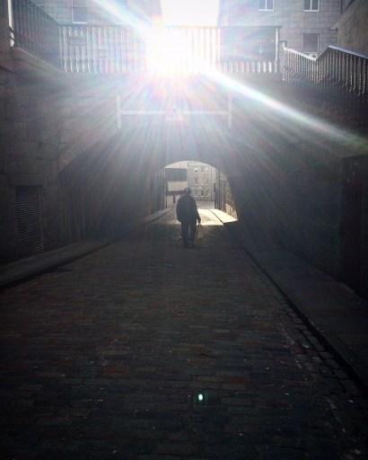 Archway in Correction Wynd, Aberdeen