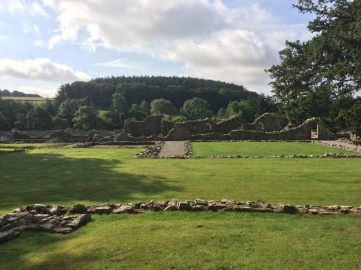 Deer Abbey in Aberdeenshire