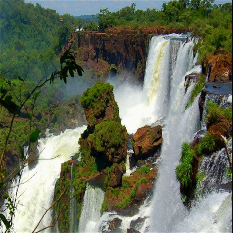 美しい滝画像 58