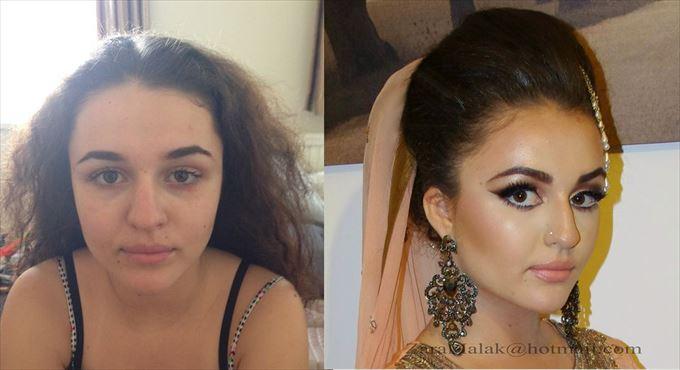 化粧の力0