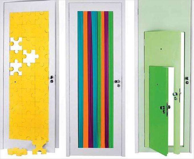 変わったドア19