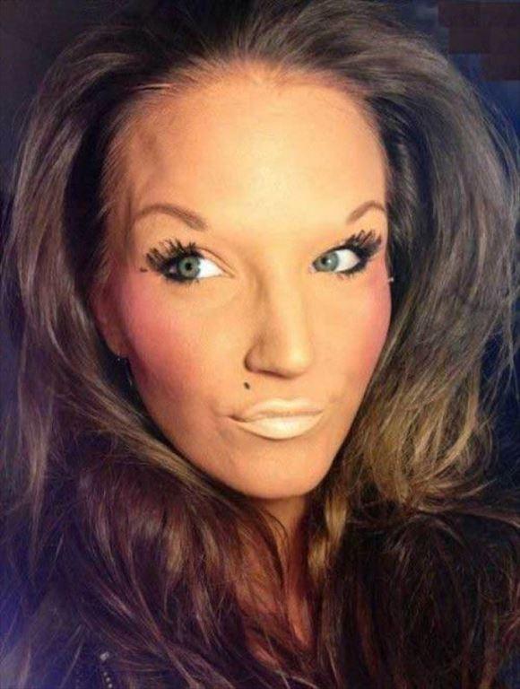 化粧失敗画像 20