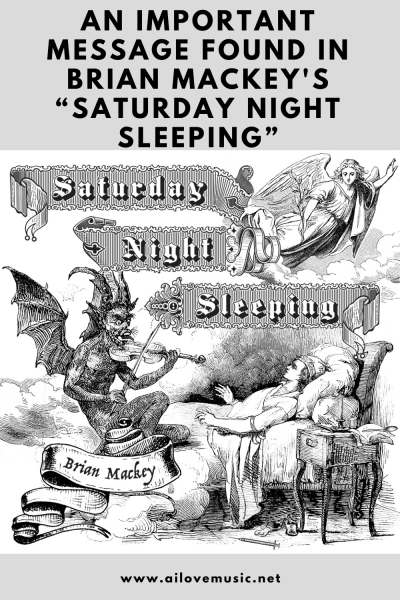 """An Important Message Found in Brian Mackey's """"Saturday Night Sleeping"""""""