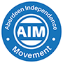 AIM - Aberdeen Independence Movement logo