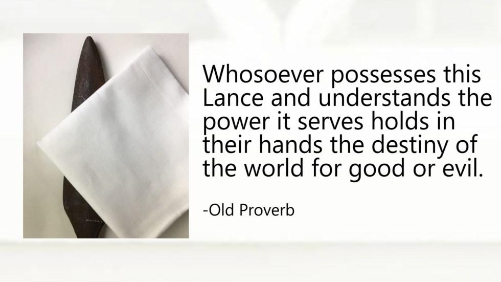 spear proverb gabriel