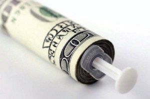 dollar syringe