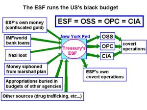 ESF and black budget