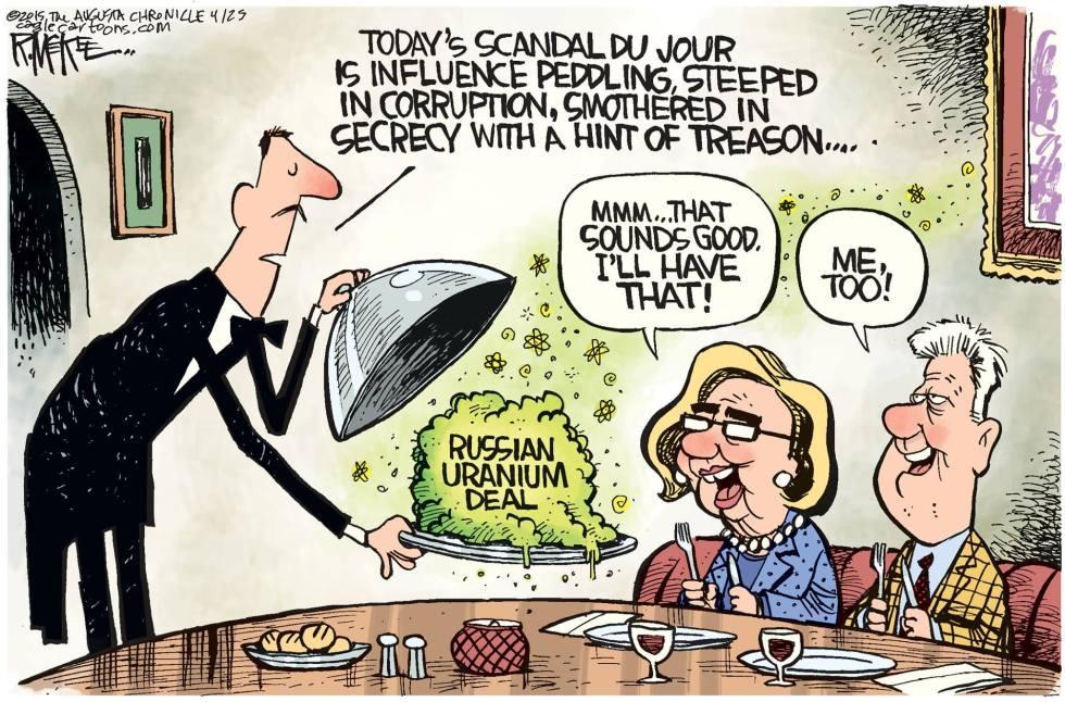 Scandal-Du-Jour uranium one