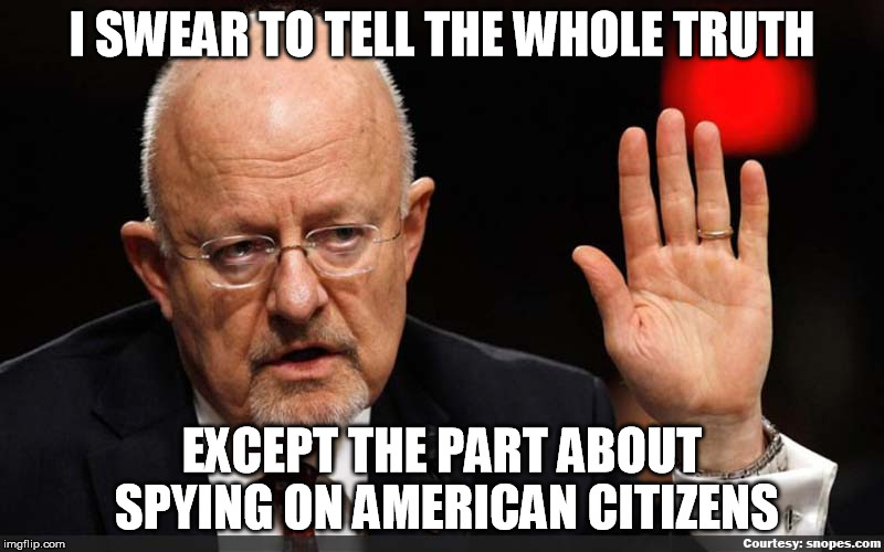Lying James Clapper