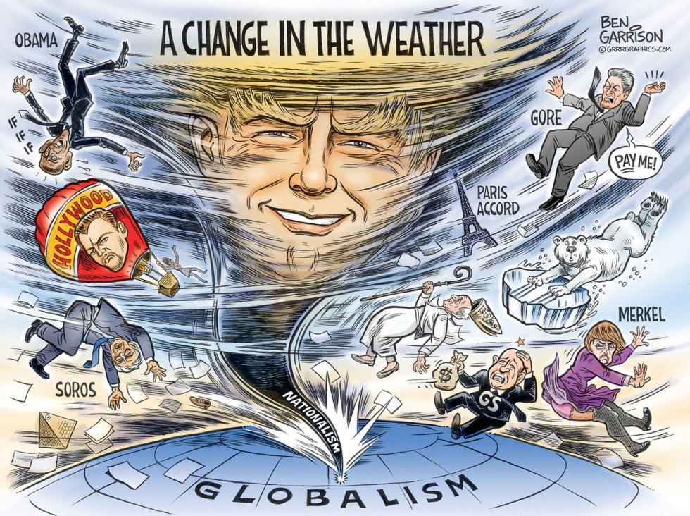 Trump change in weather garrison