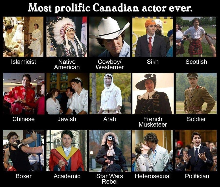 Trudeau the actor