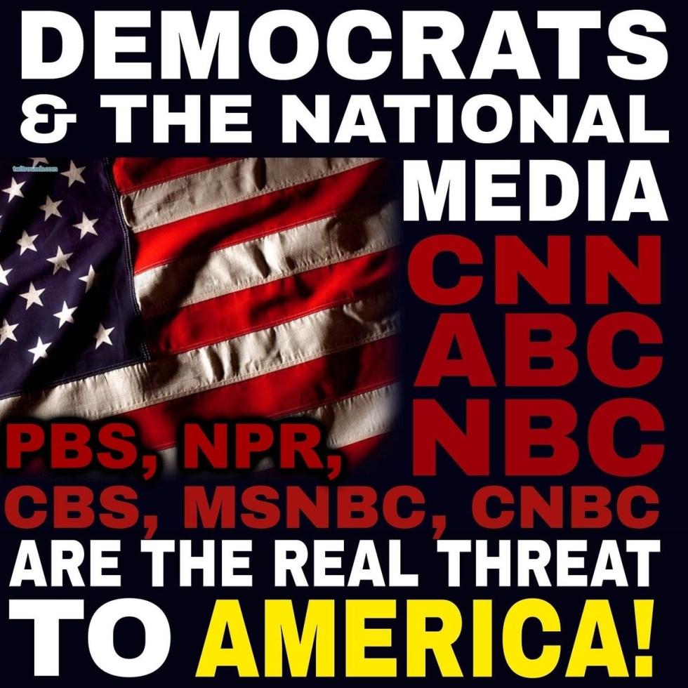 democrats and media