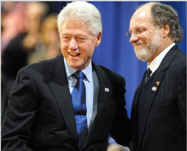 clinton and corzine