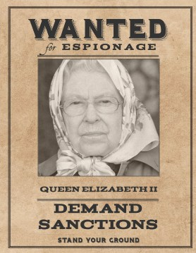 Wanted Queen Elizabeth