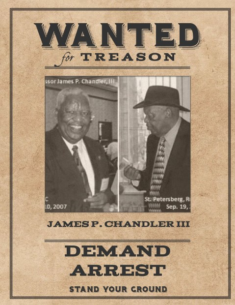 Wanted James Chandler