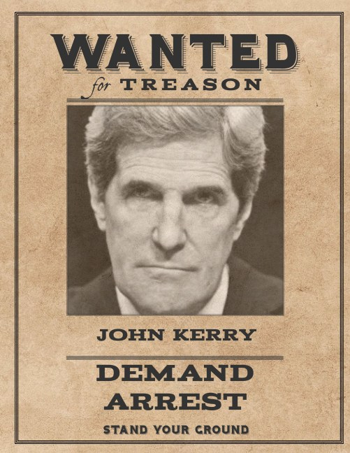 Wanted John Kerry