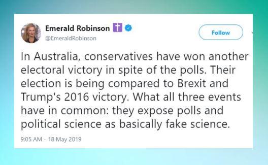 emerald fake polls