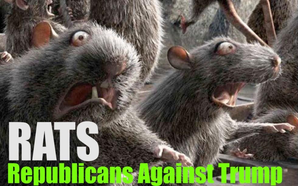 rats republicans trump