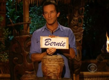 Bernie saunders island survivor