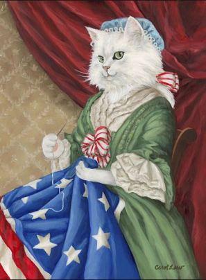 betsy ross cat