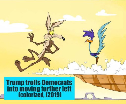 trump trolls democrats road runner.jpg