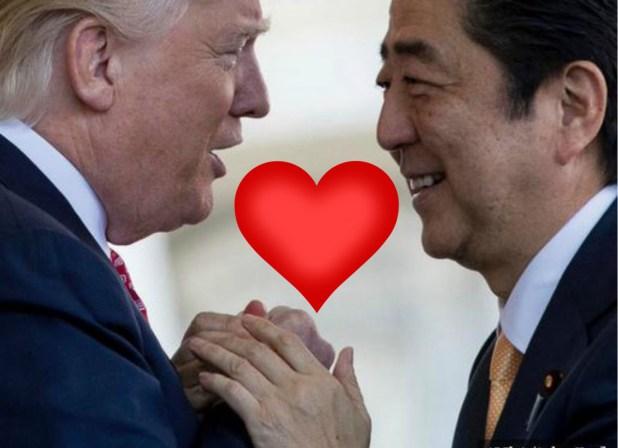 abe trump heart