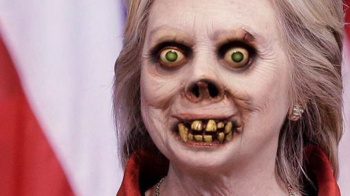 hillary lurking monster