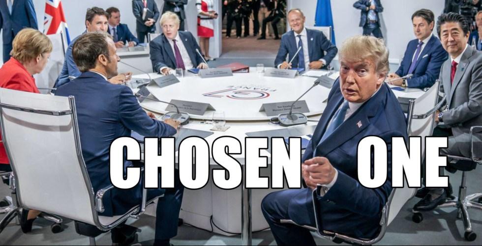 trump chosen one