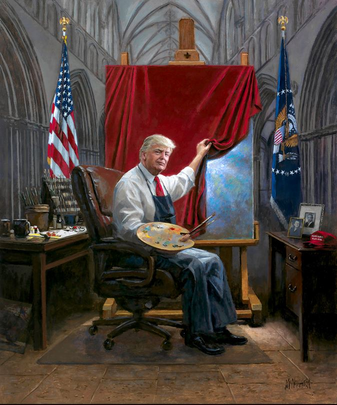 trump painting mcnaughton.JPG